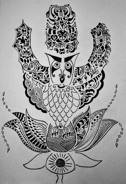The Owl & The Lotus