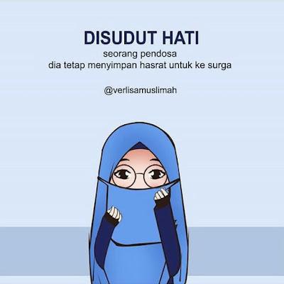 DP BBM Muslimah Taubat