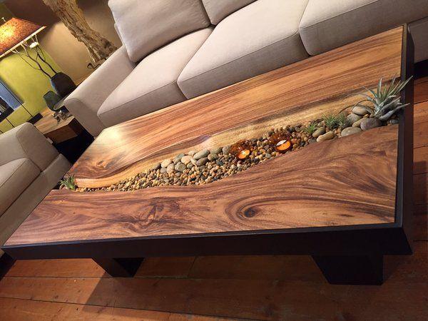 20 Unique Wood Tables With Epoxy Touch Decor Units