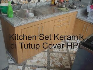 Cover Tutup Untuk Cor Beton Kitchen Set