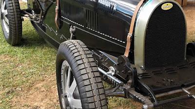 O Bugatti de Águas de Lindóia: original ou réplica?
