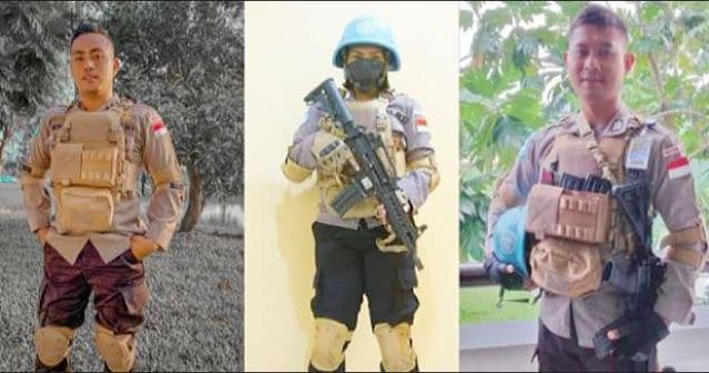 Mewakili Papua, Tiga Personil Brimob Siap Laksanakan Misi Perdamaian PBB di Afrika Tengah