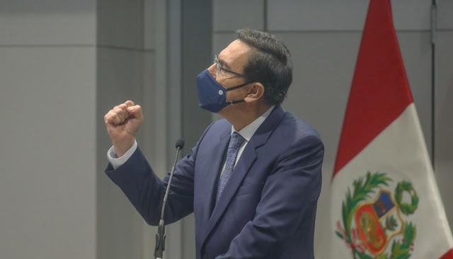 TC admite a trámite demanda competencial para vacancia contra Vizcarra