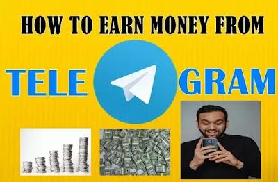 make money on telegram image