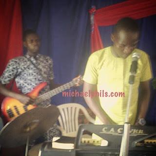 instrumentalist playing I love you forever by tye tribett
