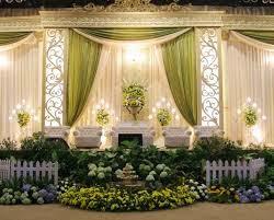 dekorasi pesta pernikahan