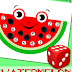 Watermelon Math Game: Roll & Cover