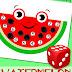 Watermelon Math Game: Roll & Cover