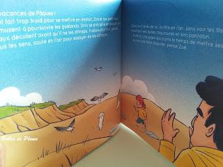 Bulles de Plume - Zoë et le Goéland (Isabelle Autissier raconte la mer)