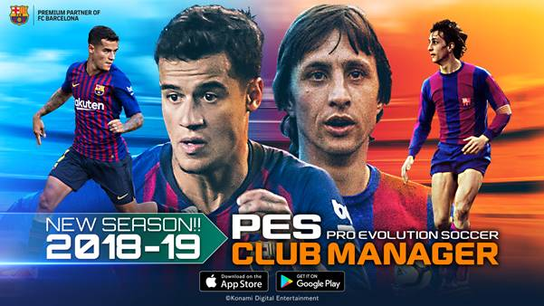 PES Club Manager - Finalmente Disponibile La Versione 2.0
