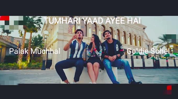 TUMHARI YAAD AYEE HAI Lyrics [Hindi/English] — Palak Muchhal feat. Goldie Sohel