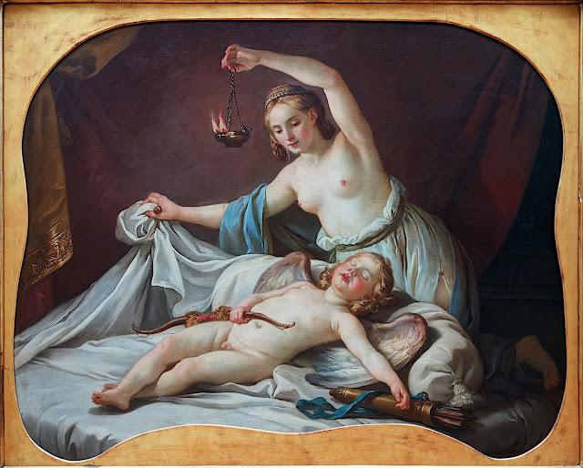 Joseph-Marie Vien: Amore e Psiche