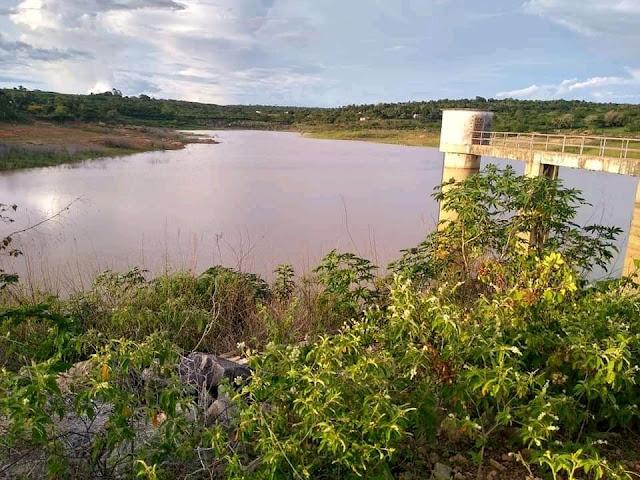Apesar das fortes chuvas que cai na região, em Buíque a barragem do Mulungu ainda não atingiu sua capacidade máxima