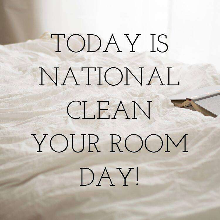 National Clean Your Room Day Wishes Beautiful Image