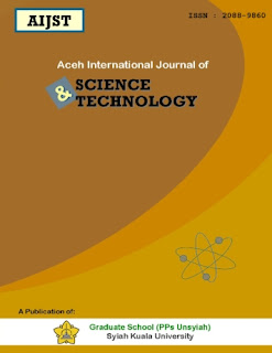 Aceh International Journal of Science and Technology