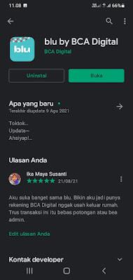 download aplikasi blu bisa dilakukan di playstore dan appstore