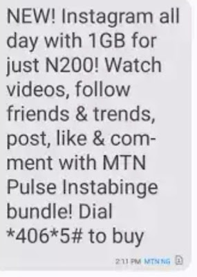 MTN Pulse Fresh Offer - How To Get 1GB For N200 On MTN