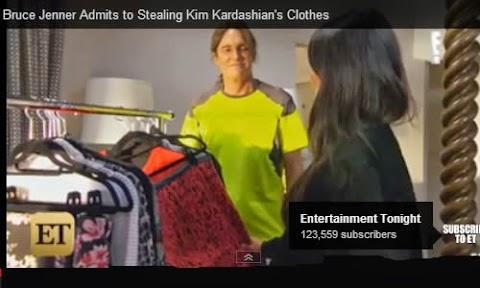 Bruce Jenner admite le robaba vestidos a Kim Kardashian