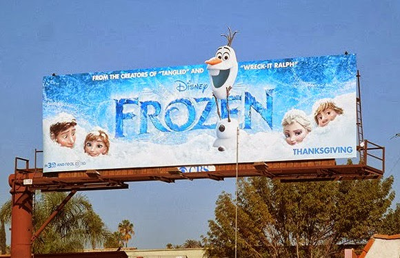 Frozen billboard animatedfilmreviews.filminspector.com