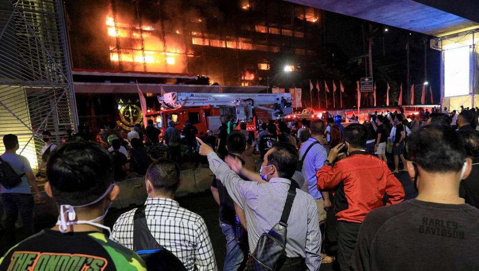 Gedung Kejagung Terbakar, Rekaman CCTV Kegiatan Jaksa Pinangki Diduga Ikut Ludes