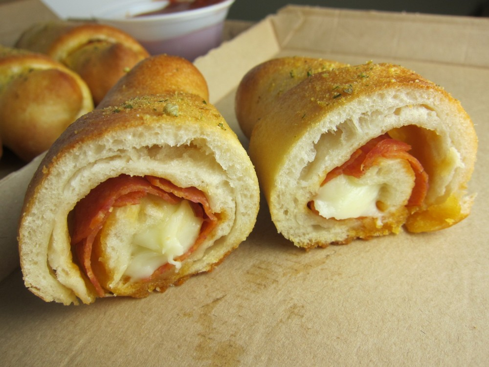 Review: Pizza Hut - Stuffed Pizza Rollers | Brand Eating