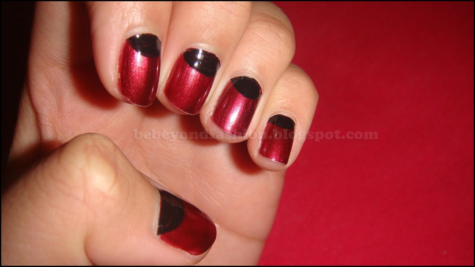 Vampire Shaped Nails