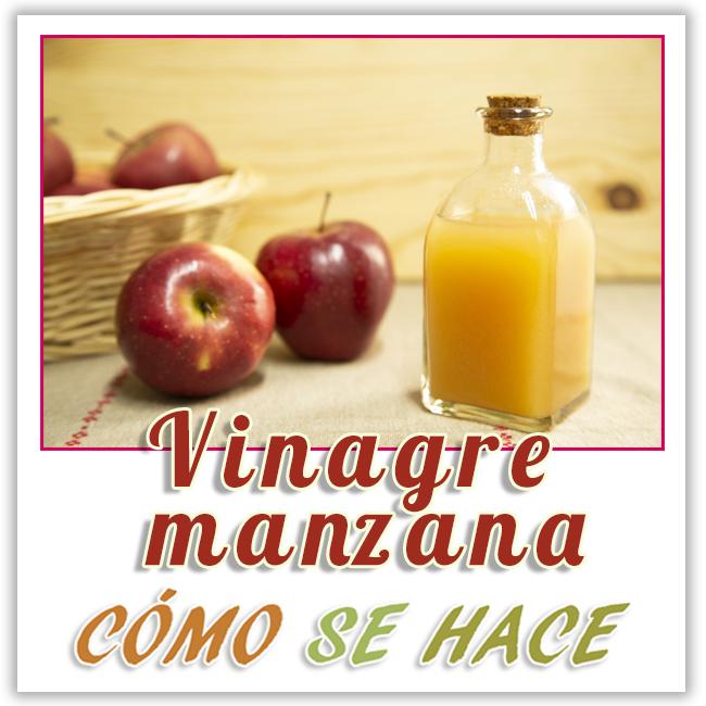 como se ase el vinagre de manzana casero
