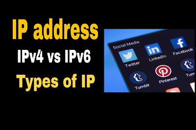 IP address | IPv4 vs IPv6 detail | Types of IP