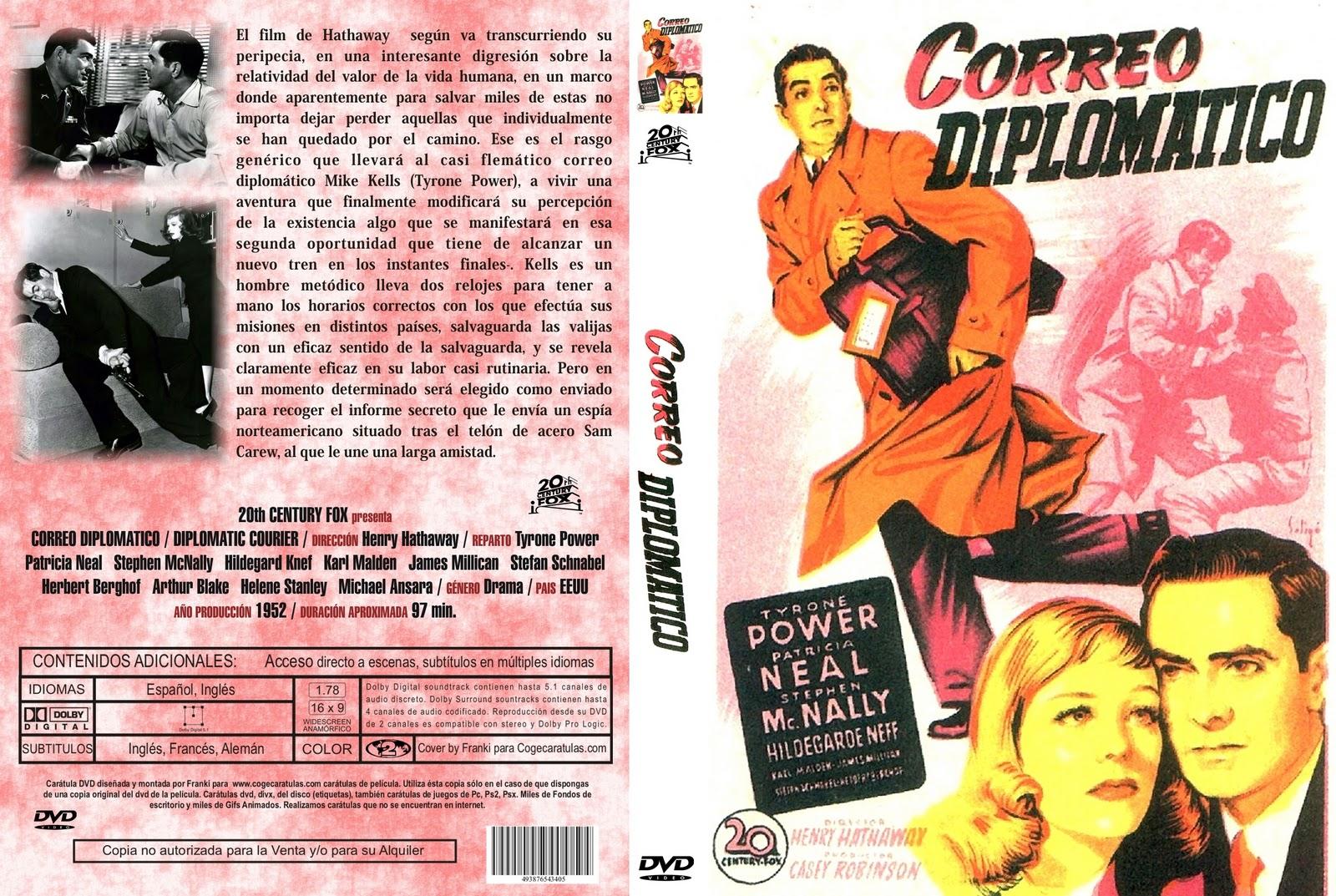 Correo diplomático ( 1952 ) Dual Descargar y ver Online Gratis