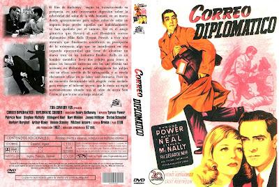 Cover, Carátula DVD: Correo diplomático | 1952 | Diplomatic Courier