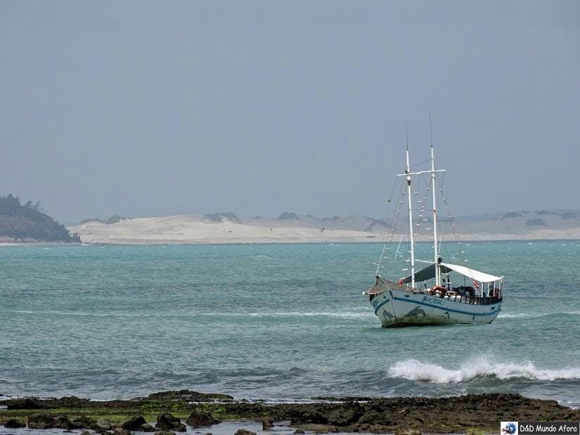 Passeio de Barco - Praia da Pipa, RN - o que fazer