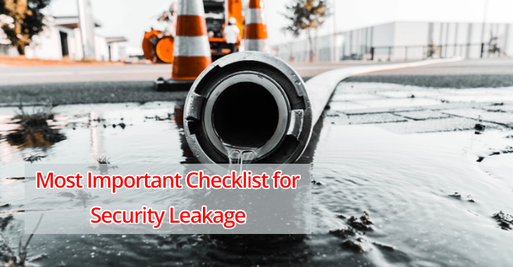 Security leakage  - Security 2BLeakage - Important Checklist for Security Leakage Before Initiating Data Migration