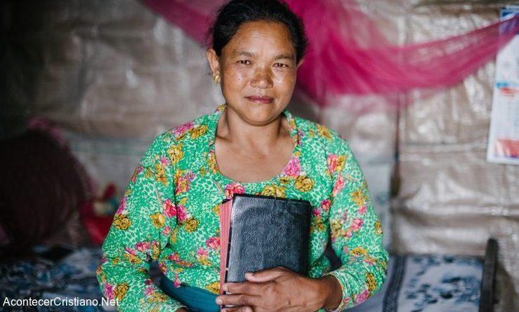 Mujer evangelista de la India