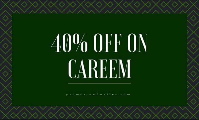 40% off on Careem Pakistan