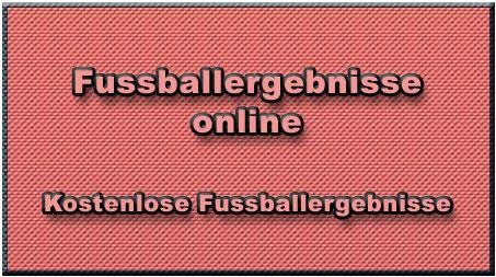Fussballergebnisse online
