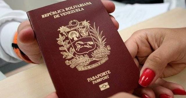 Saime habilita opción en cinco pasos para cerrar trámites de pasaportes