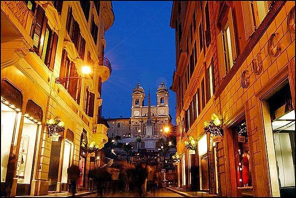 Compras em Roma - Via Condotti