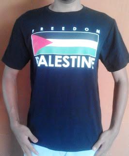 Jual Kaos Bendera Palestina