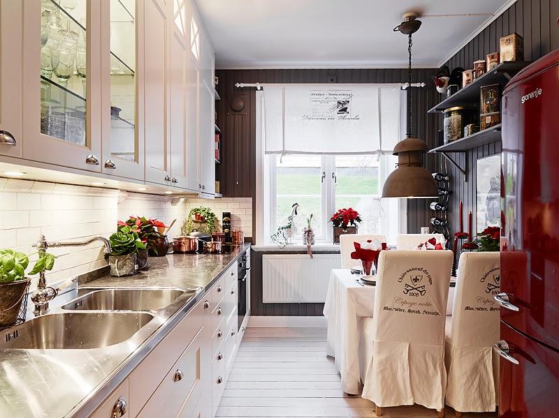 El inevitable blanco en las cocinas escandinavas - Cocinas con estilo