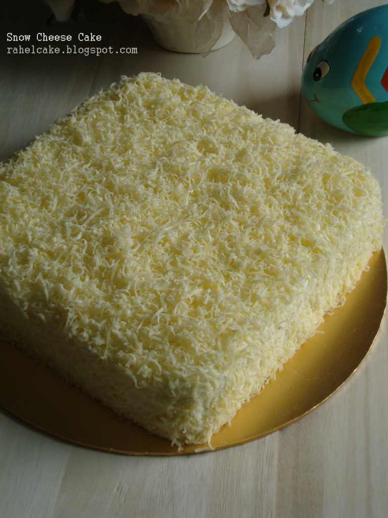 I Love Cake: Snow Cheese Cake