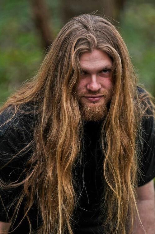 style long men's hair