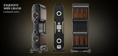 Loa Hi-End Kharma Exquisite Midi Grand cặp loa tham chiếu Audiophile