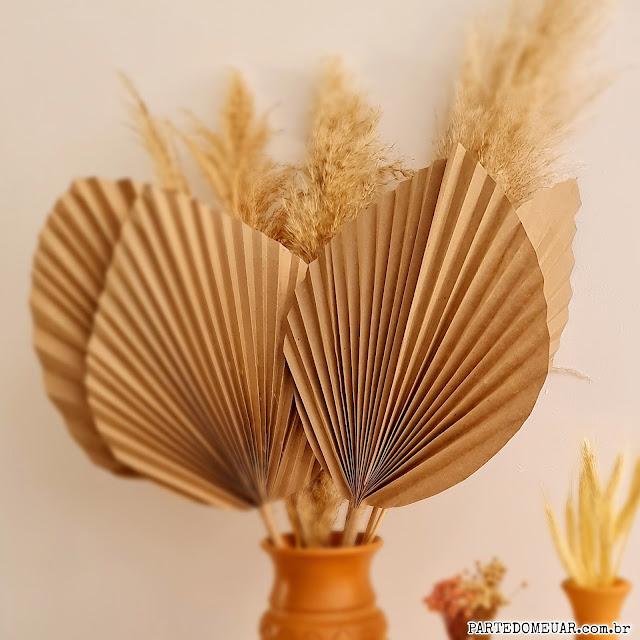 paper palm leaf