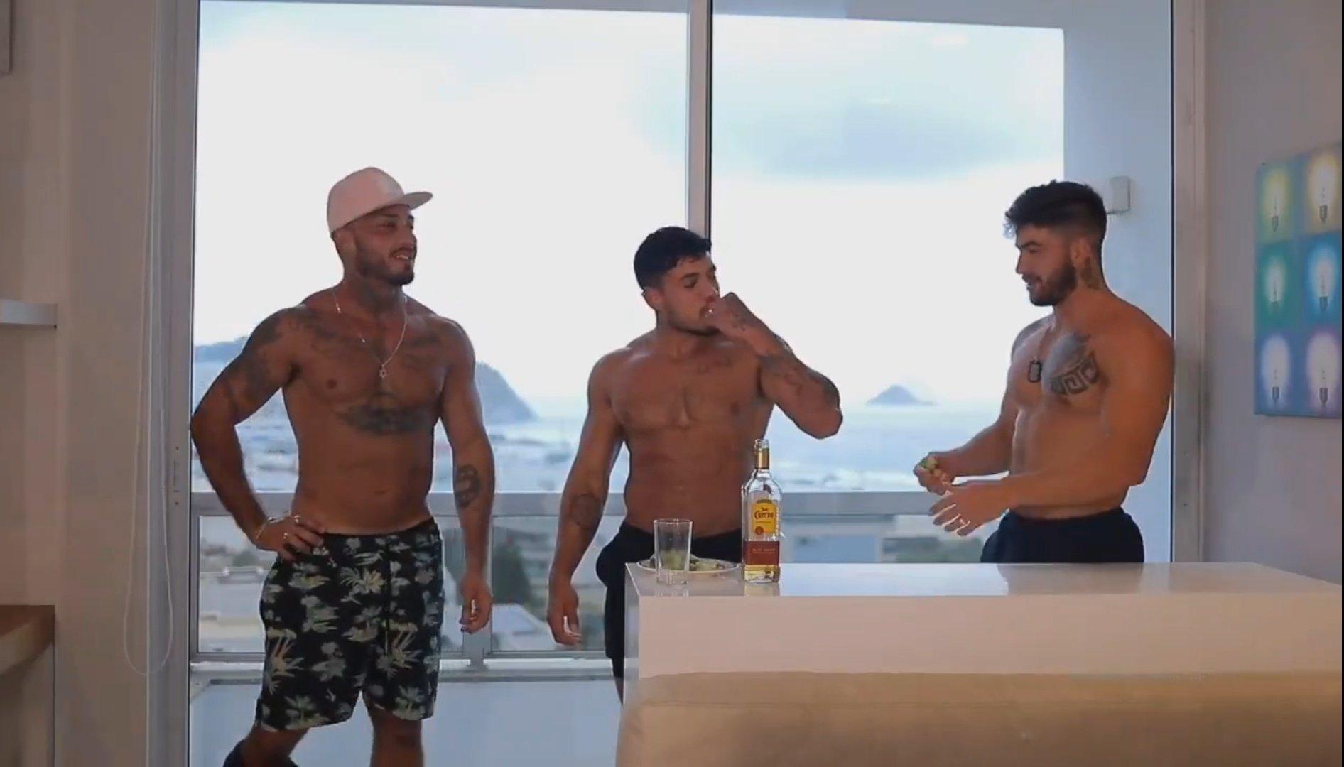follando con amigos en Brasil