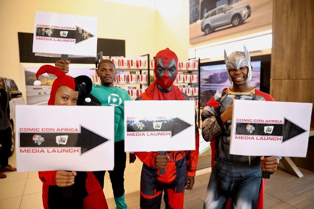 @ComicConAfrica 2019 Media Launch #ComicConAfrica #KidsCon #ReedExpoAfrica #Reedpop