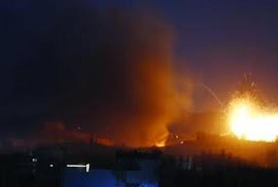 انفجارات عنيقة هزت محافظة مأرب