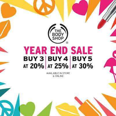 The Body Shop Malaysia Year End Sale