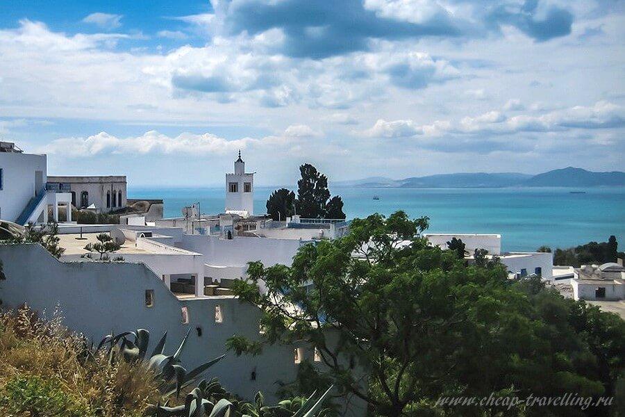 сиди бу саид тунис фото