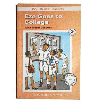 Eze goes to college cover