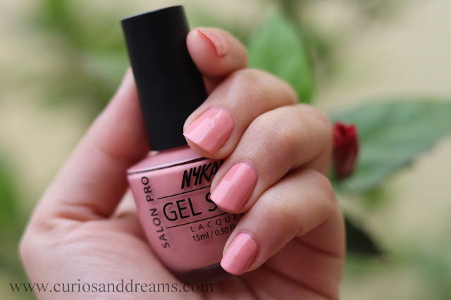 Nykaa nail polish, Nykaa gel nail polish, review, swatch, meet me in montreal